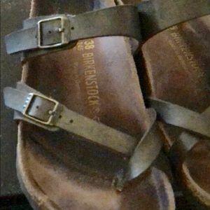 Birkenstock Shoes - Birkenstock Mayari sandal. Bronze leather. Size 38